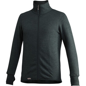 Woolpower 400 Full-Zip Jacke forest green